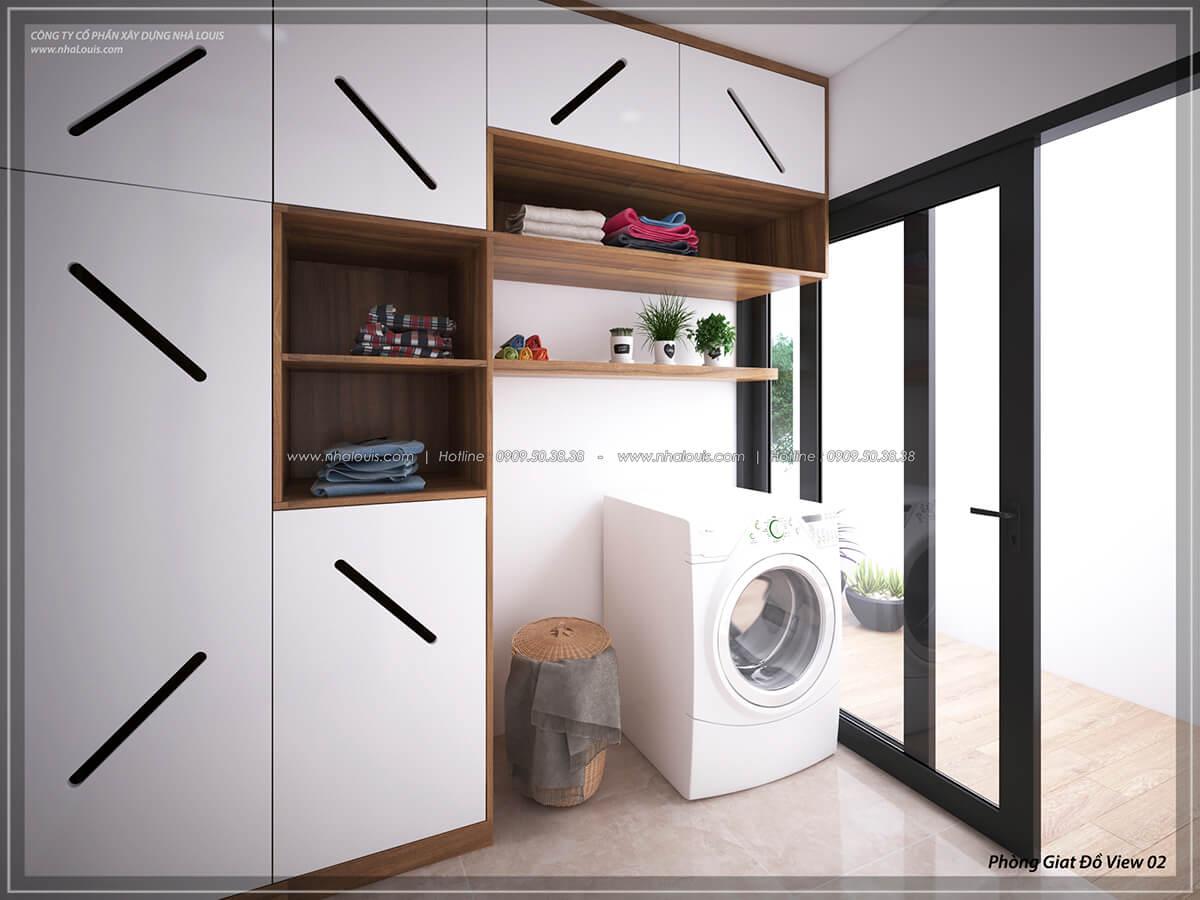 Phòng giặt đồ Thiết kế nội thất biệt thự cao cấp Lucasta Villa 5 sao tại Quận 9 - 47
