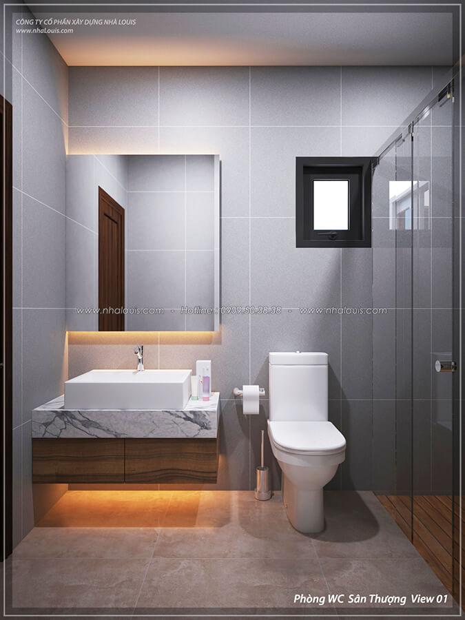 Nhà tắm và WC Thiết kế nội thất biệt thự cao cấp Lucasta Villa 5 sao tại Quận 9 - 48