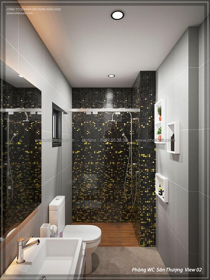 Nhà tắm và WC Thiết kế nội thất biệt thự cao cấp Lucasta Villa 5 sao tại Quận 9 - 49