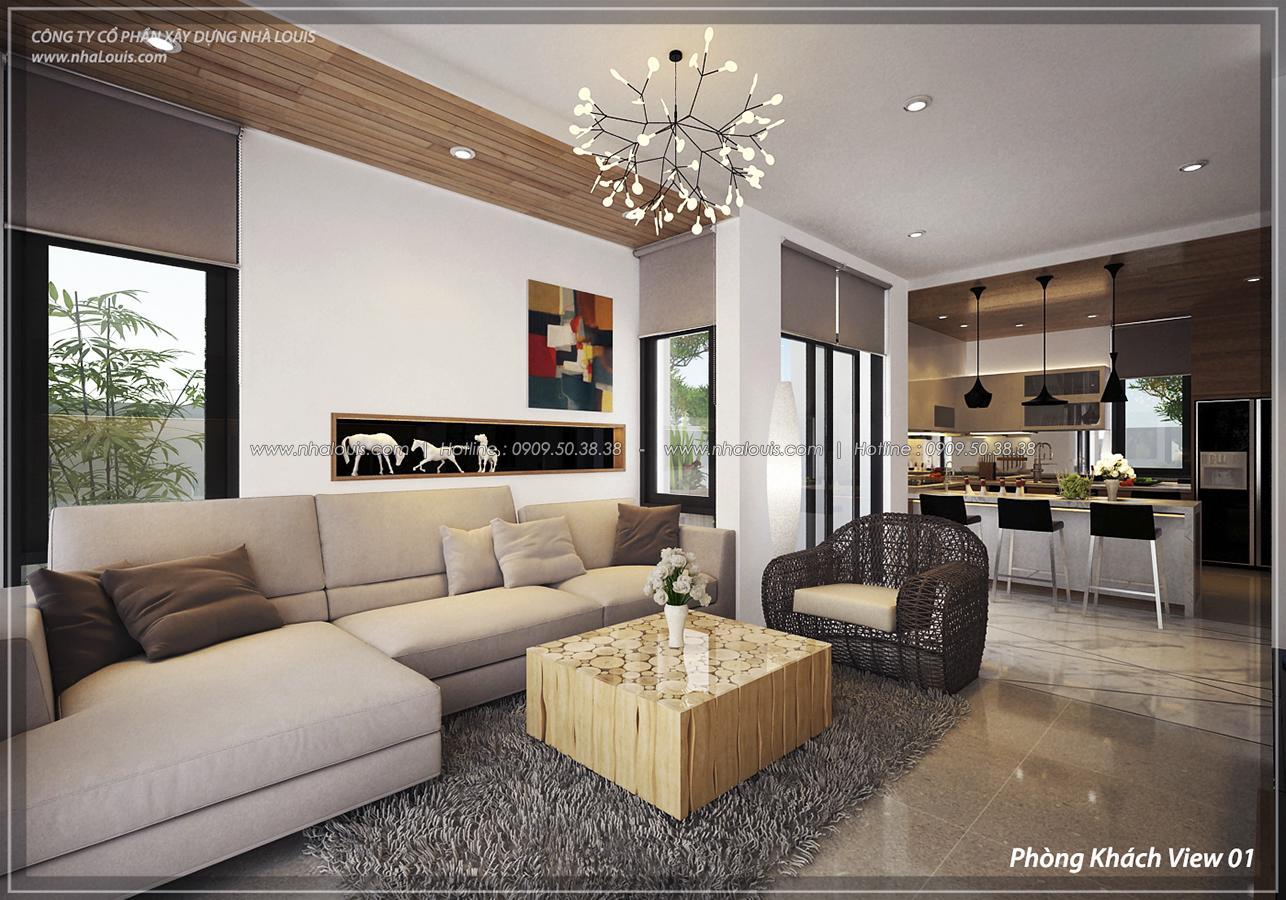Thiết kế nội thất biệt thự sinh thái cao cấp Lucasta Villa 5 sao tại Quận 9 - 5