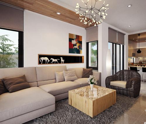 Thiết kế nội thất biệt thự sinh thái cao cấp Lucasta Villa 5 sao tại Quận 9