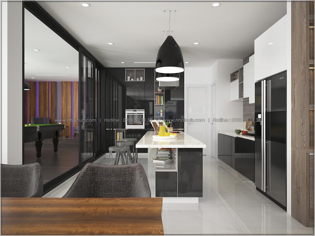 Thiết kế nội thất chung cư hiện đại tại dự án căn hộ cao cấp Sunrise City - 02