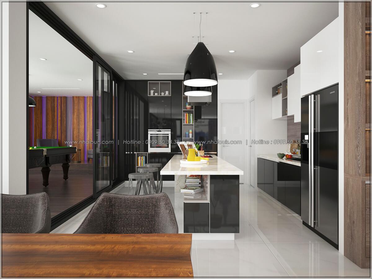 Phòng ăn và bếp Thiết kế nội thất chung cư hiện đại tại dự án căn hộ cao cấp Sunrise City - 02