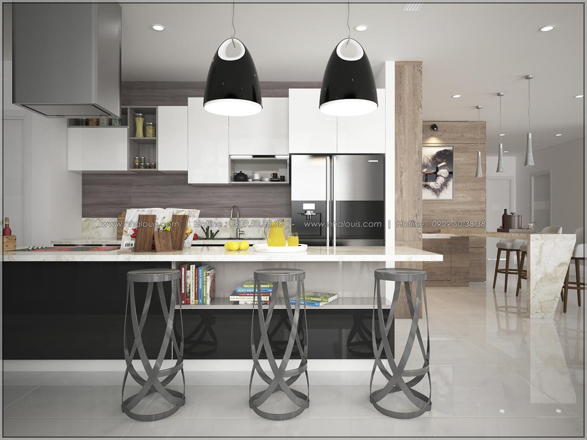 Thiết kế nội thất chung cư hiện đại tại dự án căn hộ cao cấp Sunrise City - 03