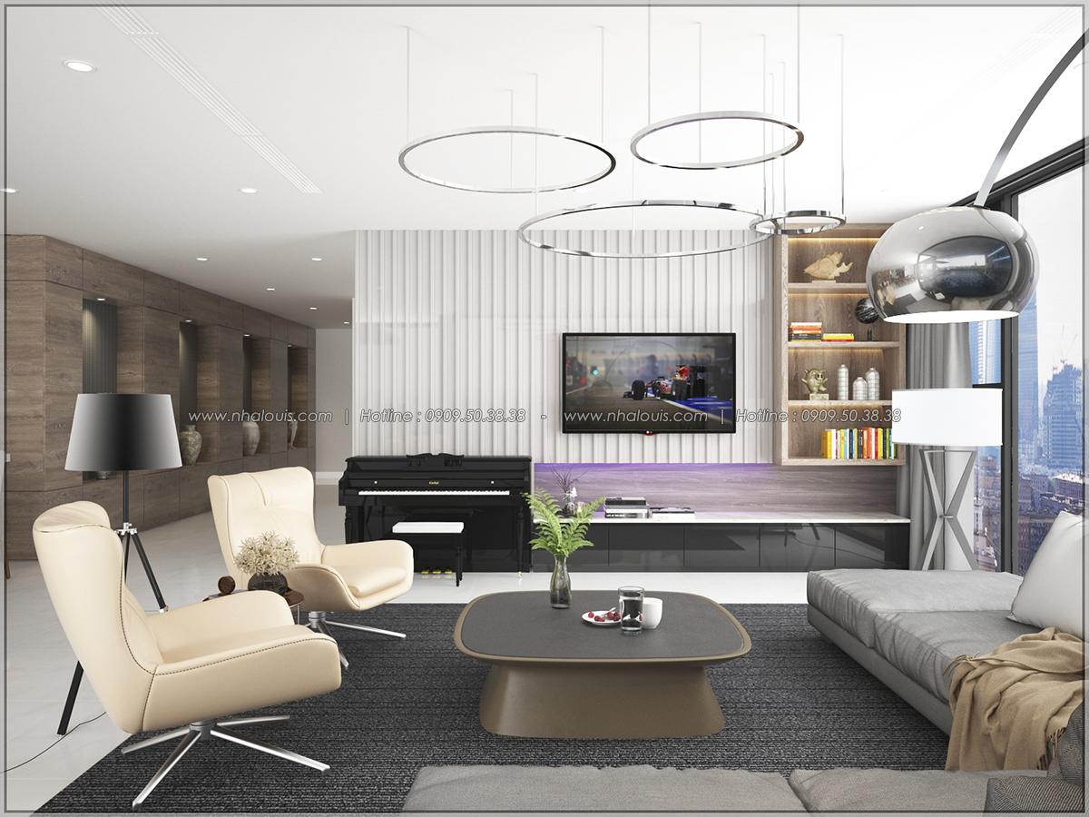 Thiết kế nội thất chung cư hiện đại tại dự án căn hộ cao cấp Sunrise City - 05