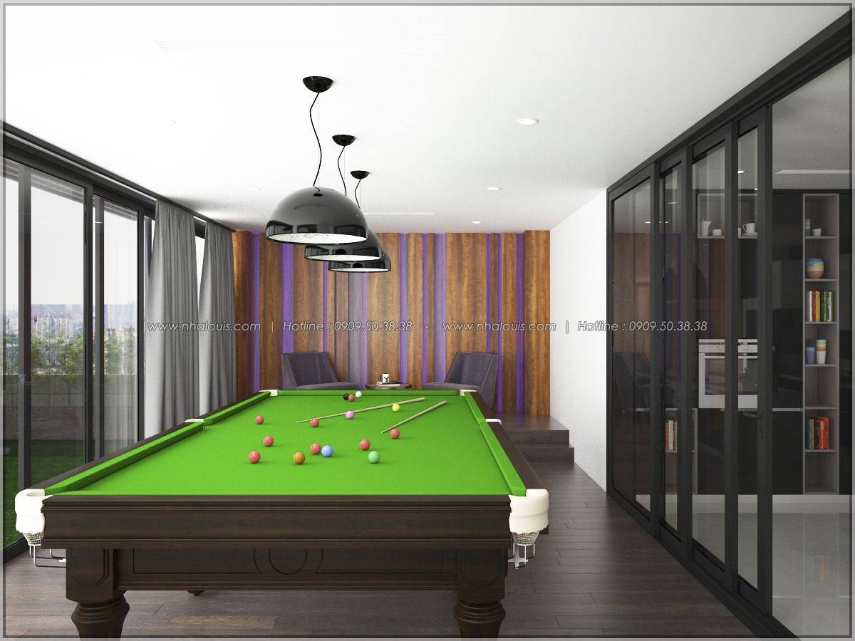 Thiết kế nội thất chung cư hiện đại tại dự án căn hộ cao cấp Sunrise City - 10