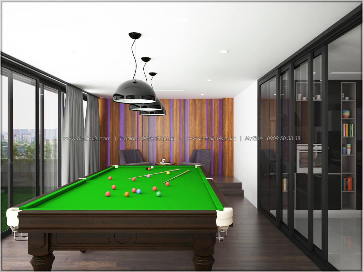 Phòng giải trí Thiết kế nội thất chung cư hiện đại tại dự án căn hộ cao cấp Sunrise City - 10