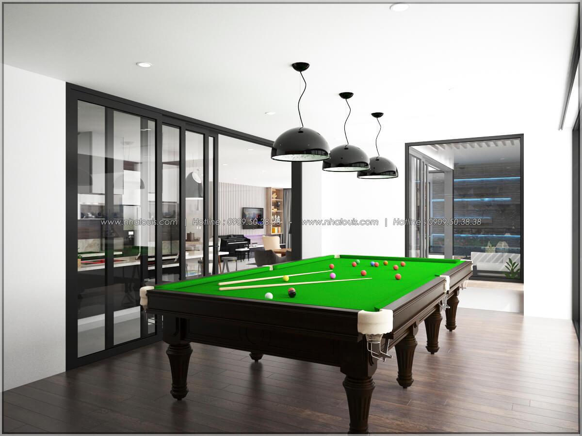 Phòng giải trí Thiết kế nội thất chung cư hiện đại tại dự án căn hộ cao cấp Sunrise City - 11
