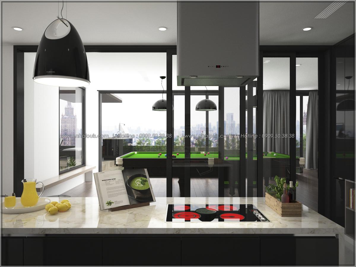 Thiết kế nội thất chung cư hiện đại tại dự án căn hộ cao cấp Sunrise City - 12