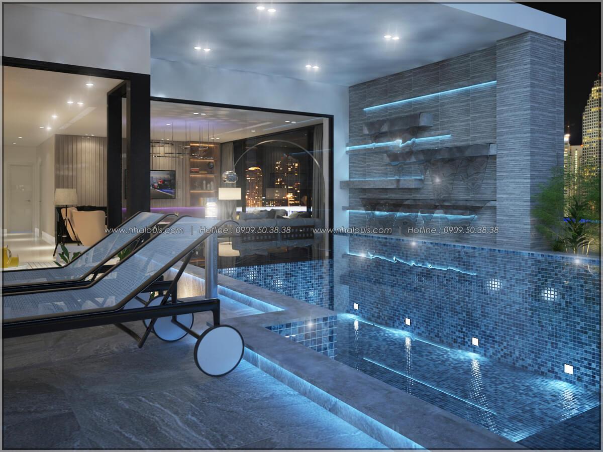 Hồ bơi Thiết kế nội thất chung cư hiện đại tại dự án căn hộ cao cấp Sunrise City - 14