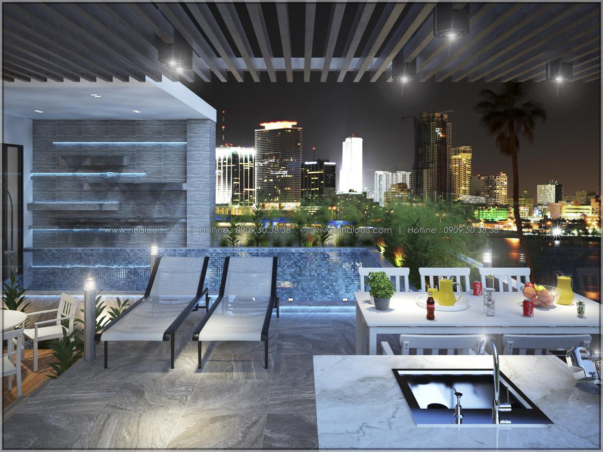 Thiết kế nội thất chung cư hiện đại tại dự án căn hộ cao cấp Sunrise City - 15