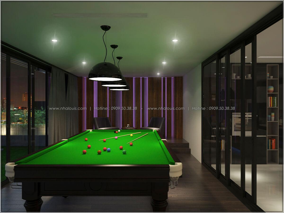 Phòng giải trí Thiết kế nội thất chung cư hiện đại tại dự án căn hộ cao cấp Sunrise City - 18