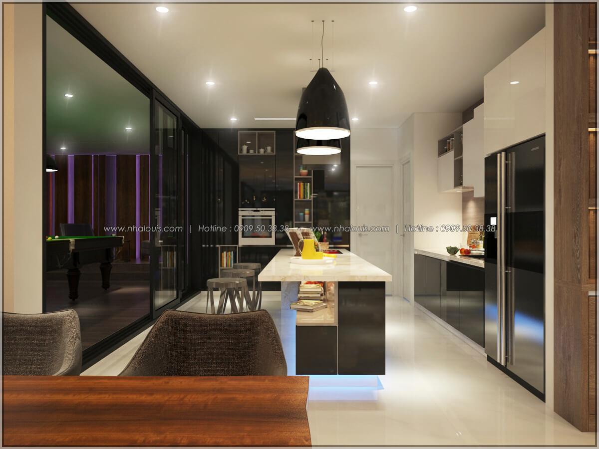 Bếp và phòng ăn Thiết kế nội thất chung cư hiện đại tại dự án căn hộ cao cấp Sunrise City - 19
