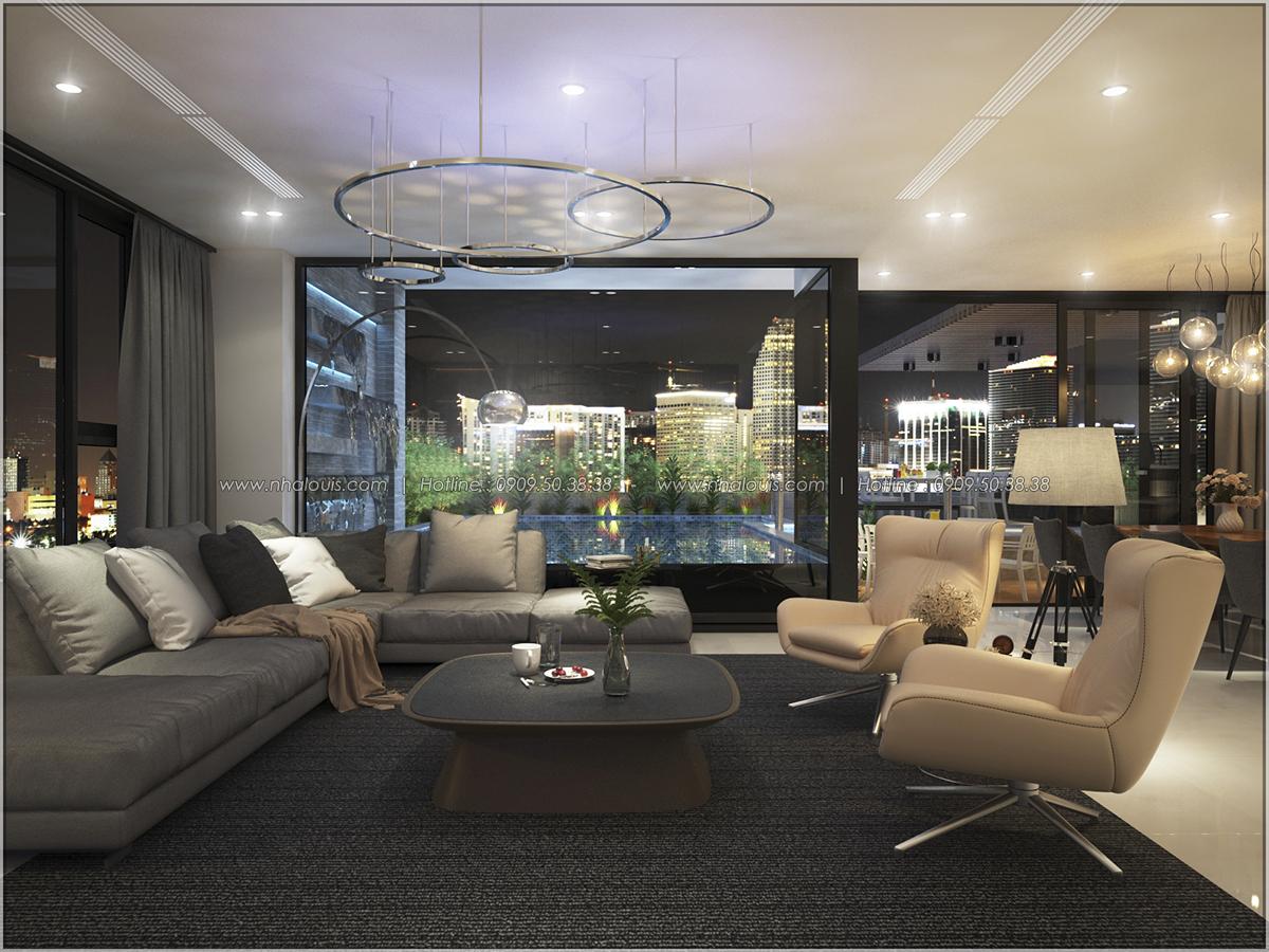 Thiết kế nội thất chung cư hiện đại tại dự án căn hộ cao cấp Sunrise City - 23