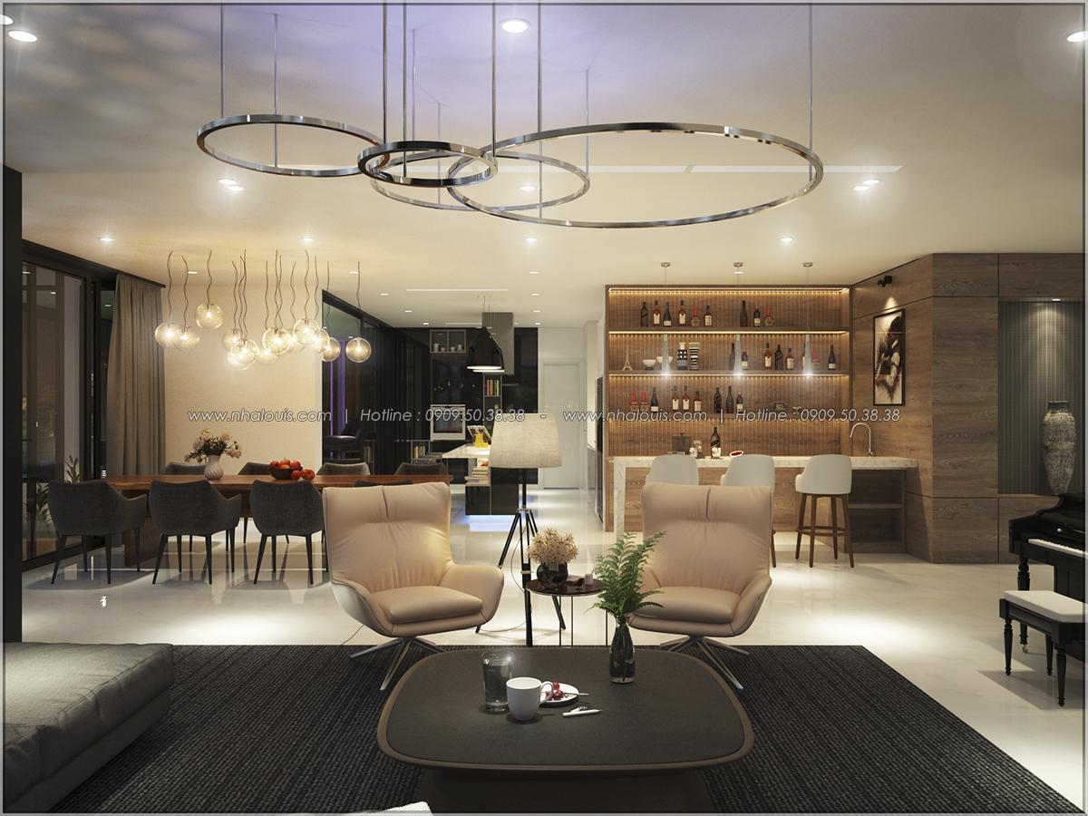 Thiết kế nội thất chung cư hiện đại tại dự án căn hộ cao cấp Sunrise City - 26