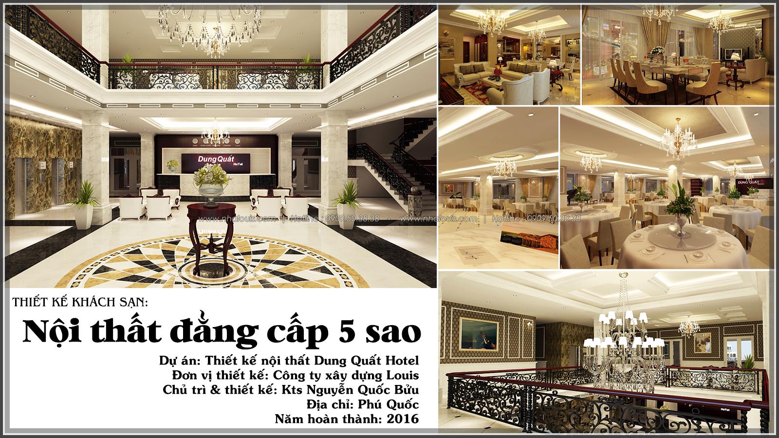 Mẫu thiết kế nội thất khách sạn tại Phú Quốc đẳng cấp chuẩn 5 sao [Video]