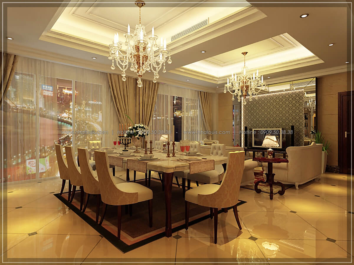 Nhà hàng Thiết kế nội thất khách sạn 5 sao đẳng cấp tại Phú Quốc - 12