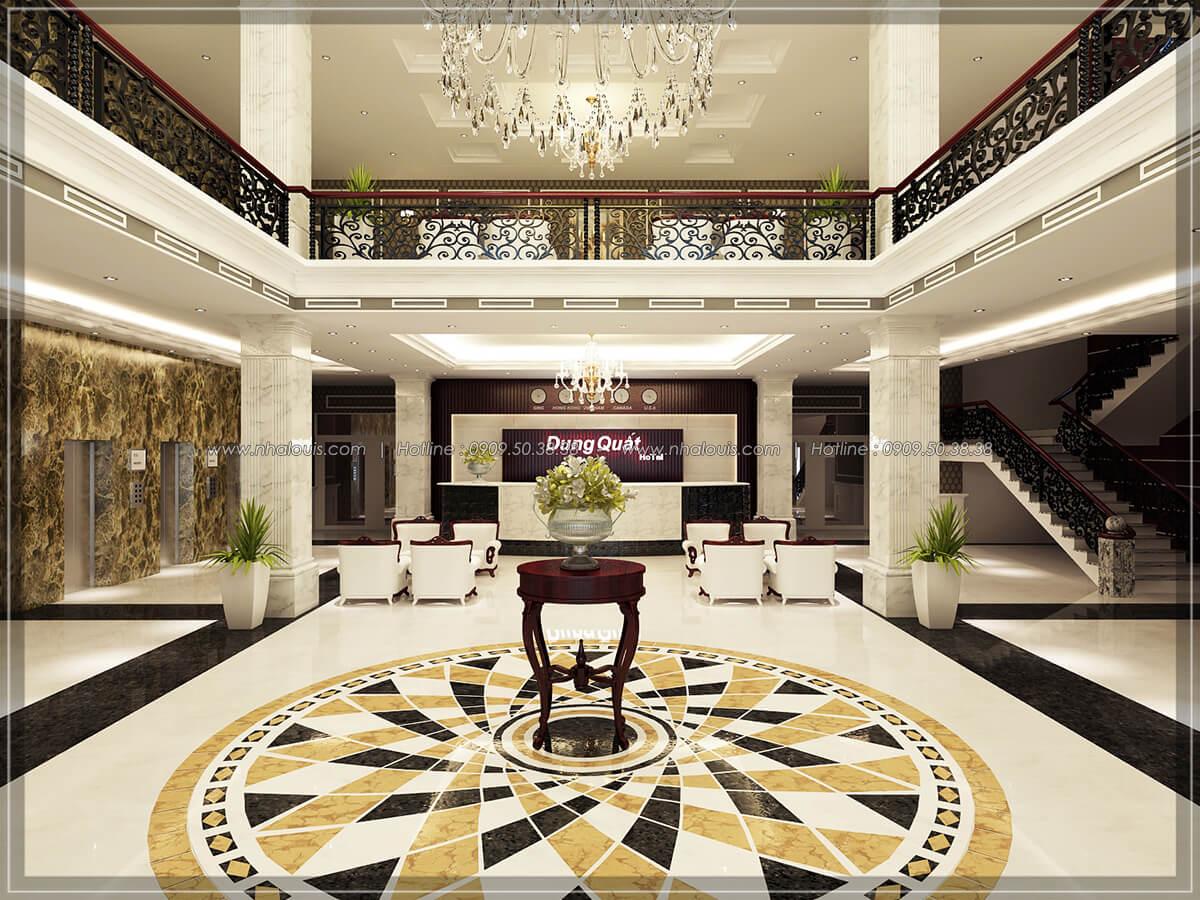 Sảnh chính Thiết kế nội thất khách sạn 5 sao đẳng cấp tại Phú Quốc - 2