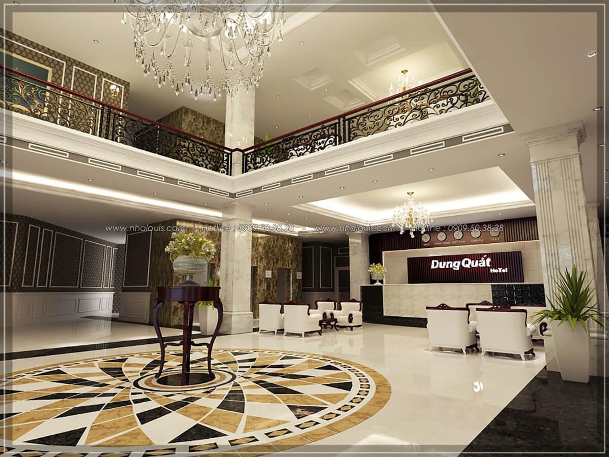Sảnh tiếp khách Thiết kế nội thất khách sạn 5 sao đẳng cấp tại Phú Quốc - 3