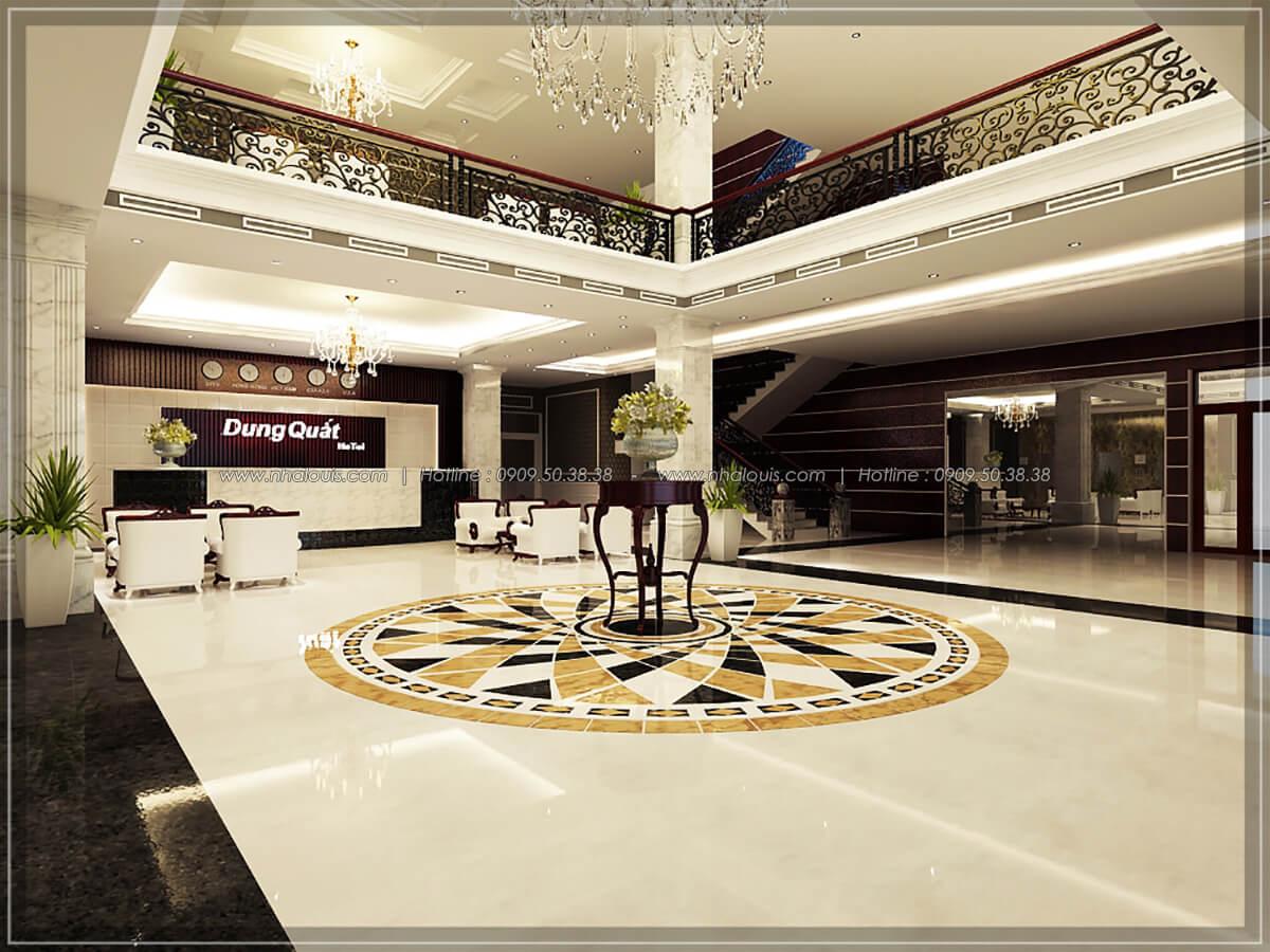 Sảnh tiếp khách Thiết kế nội thất khách sạn 5 sao đẳng cấp tại Phú Quốc - 5
