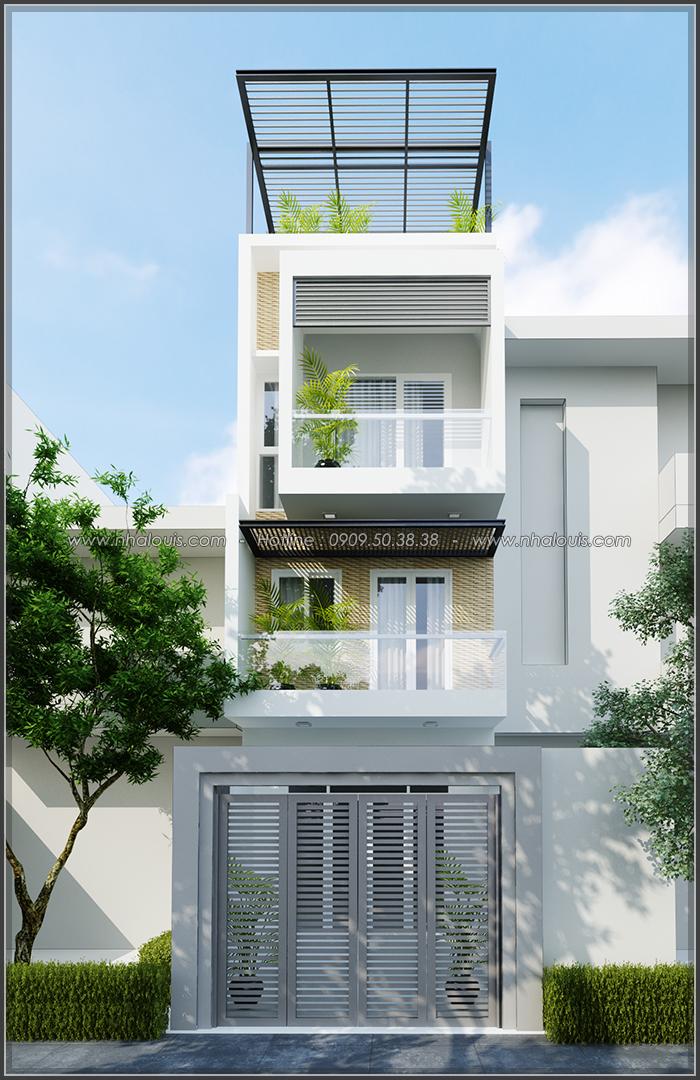 Thiết kế nội thất nhà ống đẹp tone gỗ ấm áp và sang trọng quận Tân Bình - 2