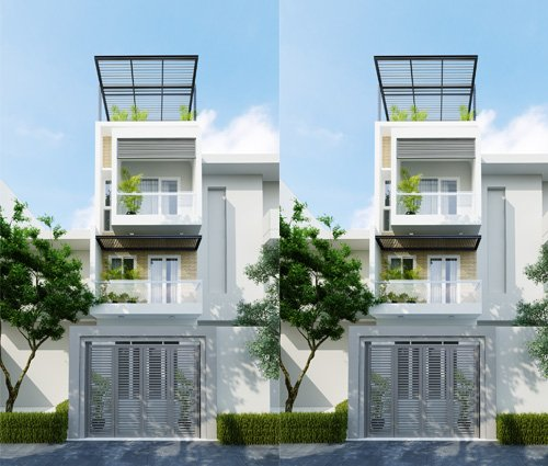 Thiết kế nội thất nhà ống đẹp tone gỗ ấm áp và sang trọng quận Tân Bình