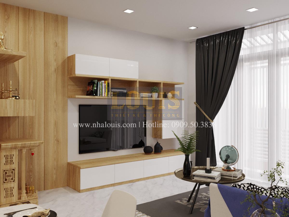 Thiết kế nhà phố đẹp 5 tầng hiện đại sang trọng tại quận 10 - 01