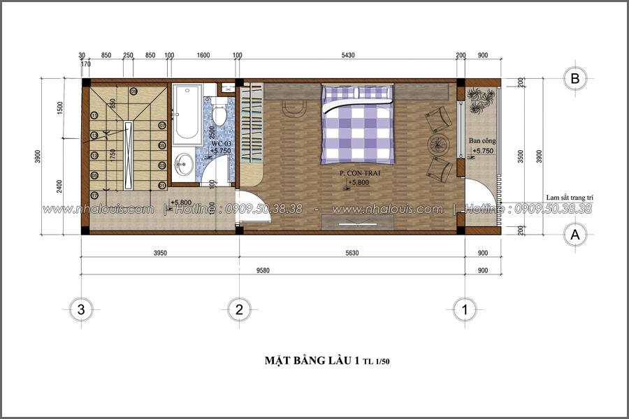 Thiết kế nhà phố đẹp 5 tầng hiện đại sang trọng tại quận 10 - 04