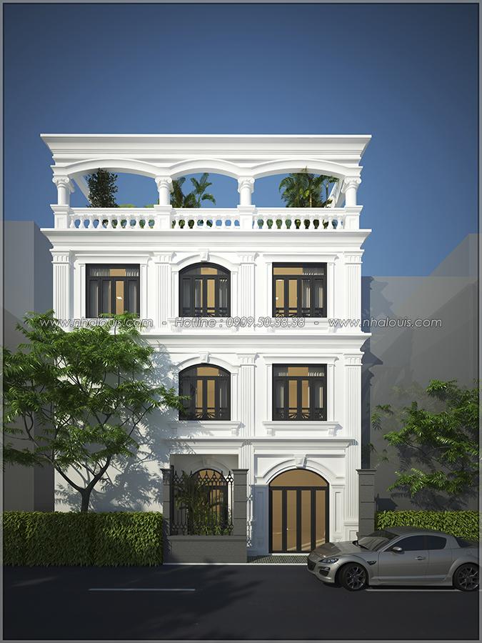 Thiết kế nội thất tân cổ điển cho nhà phố đẳng cấp tại Phú Nhuận - 1