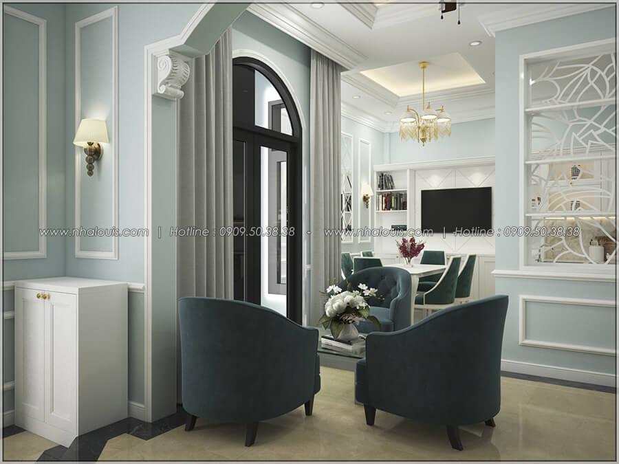 Thiết kế nội thất tân cổ điển cho nhà phố đẳng cấp tại Phú Nhuận