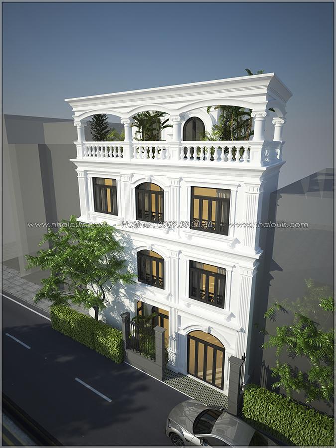 Nội thất nhà tân cổ điển ở Phú Nhuận đẹp sang trọng