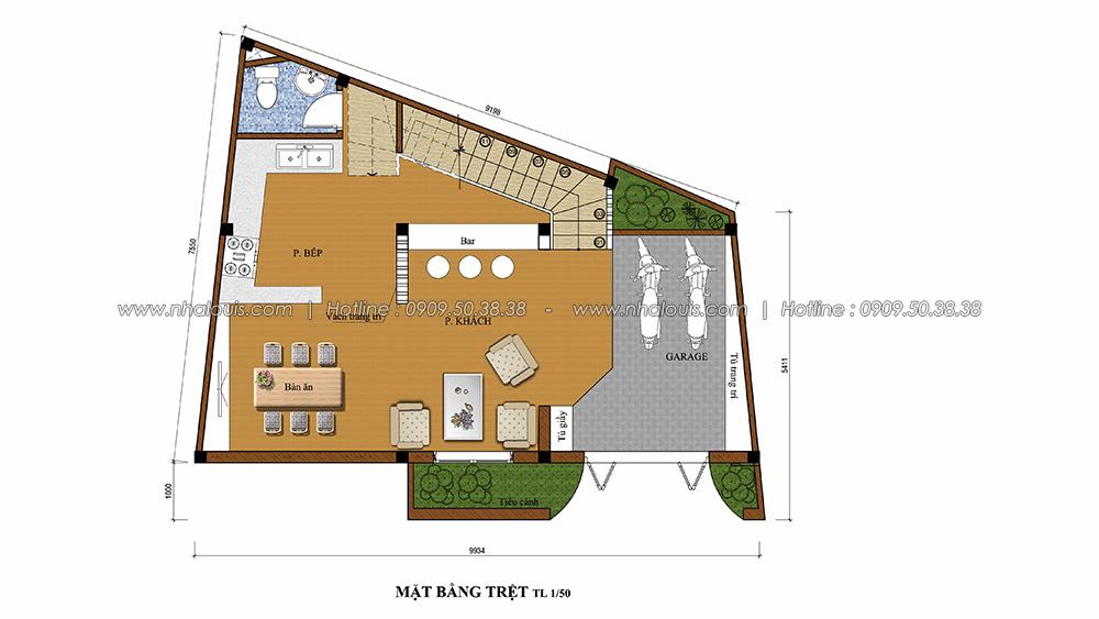 Thiết kế nội thất tân cổ điển cho nhà phố đẳng cấp tại Phú Nhuận - 3
