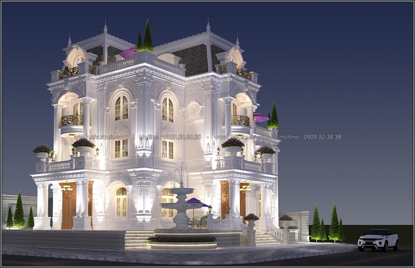 Tinh hoa của đẳng cấp từ thiết kế biệt thự 3 tầng cổ điển tại Bình Tân - 02