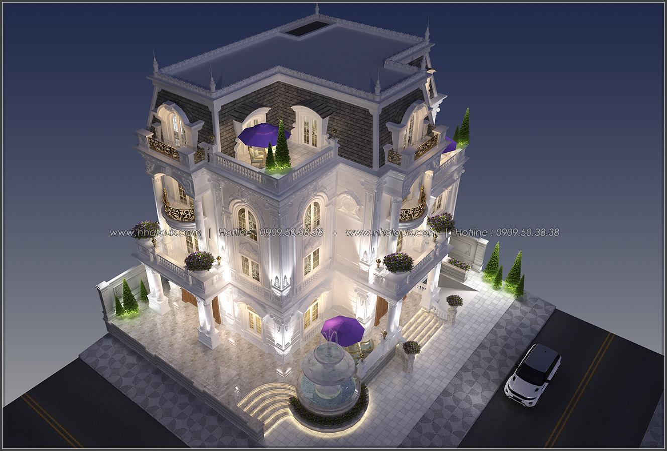 Tinh hoa của đẳng cấp từ thiết kế biệt thự 3 tầng cổ điển tại Bình Tân - 03
