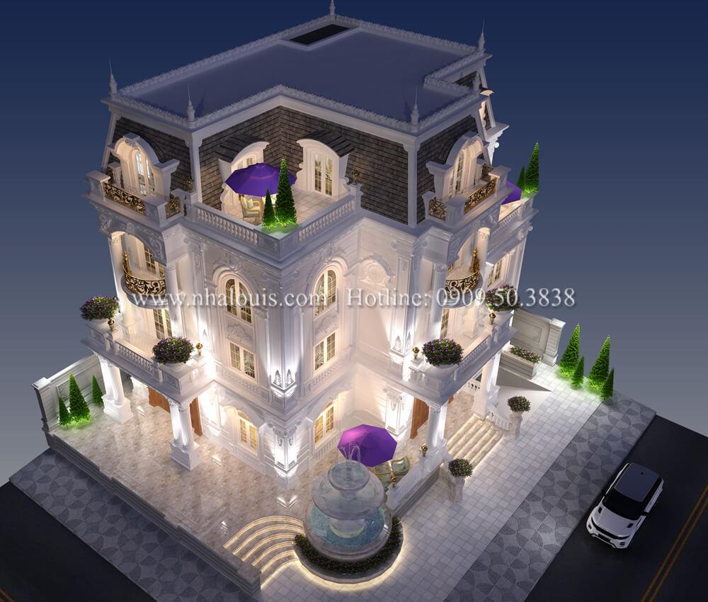 Tinh hoa của đẳng cấp từ thiết kế biệt thự có tầng hầm tại Bình Tân