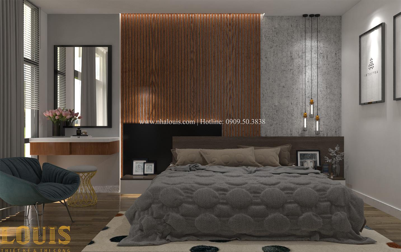 Phòng ngủ master Tư vấn thiết kế mẫu nhà đẹp 4x20m hiện đại và sang trọng tại quận 8 - 24