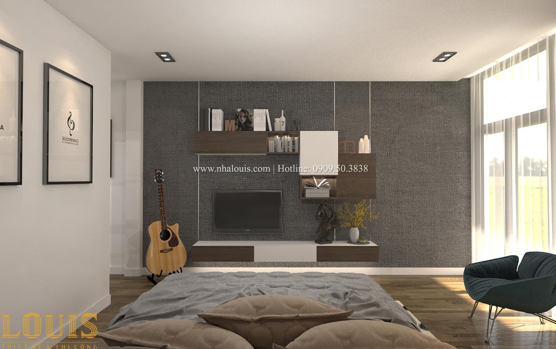 Phòng ngủ master Tư vấn thiết kế mẫu nhà đẹp 4x20m hiện đại và sang trọng tại quận 8 - 26