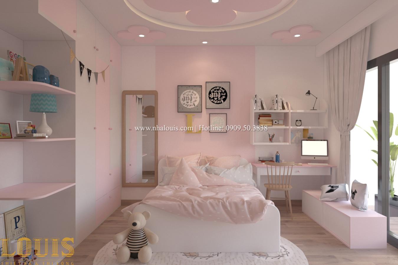 Phòng ngủ Tư vấn thiết kế mẫu nhà đẹp 4x20m hiện đại và sang trọng tại quận 8 - 27