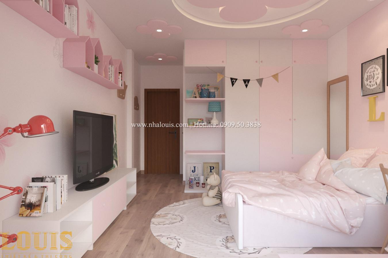 Phòng ngủ Tư vấn thiết kế mẫu nhà đẹp 4x20m hiện đại và sang trọng tại quận 8 - 28