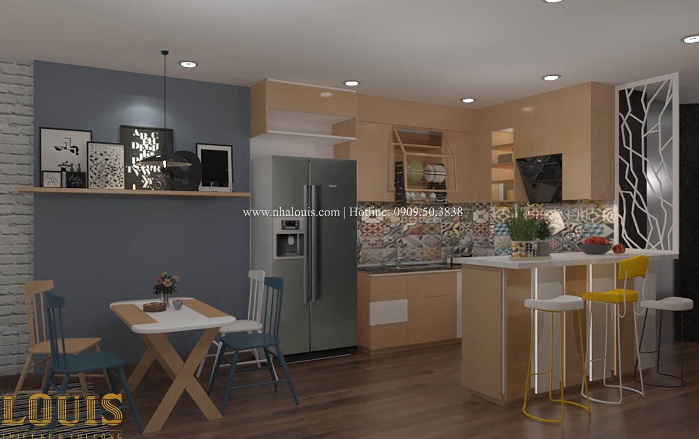 Món nội thất phòng bếp cho nhà ống