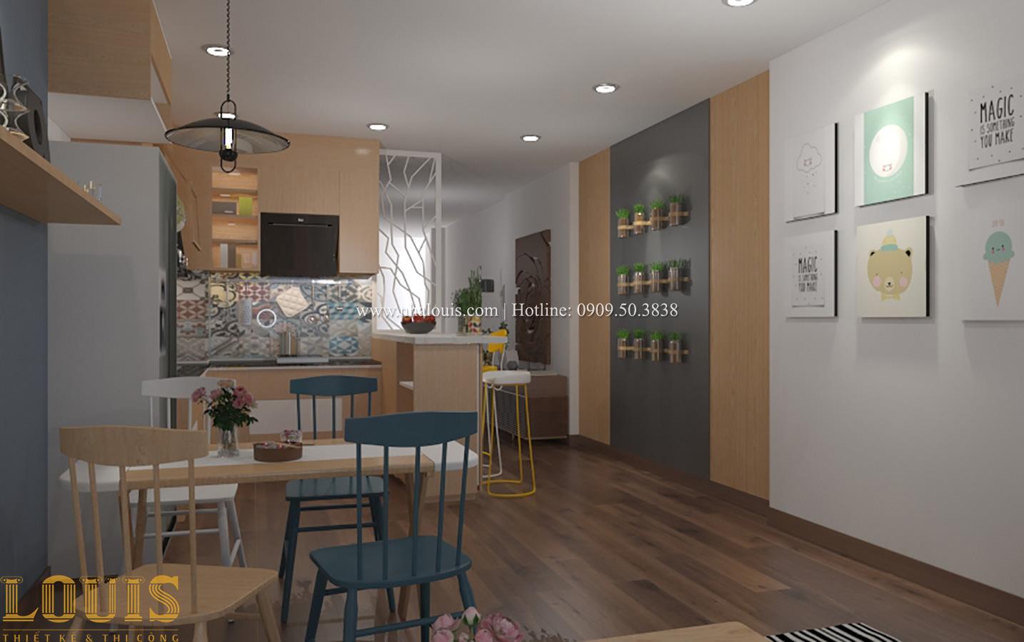 Bếp và phòng ăn Tư vấn thiết kế mẫu nhà đẹp 4x20m hiện đại và sang trọng tại quận 8 - 32
