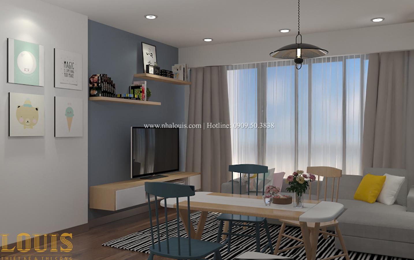 Bếp và phòng ăn Tư vấn thiết kế mẫu nhà đẹp 4x20m hiện đại và sang trọng tại quận 8 - 33