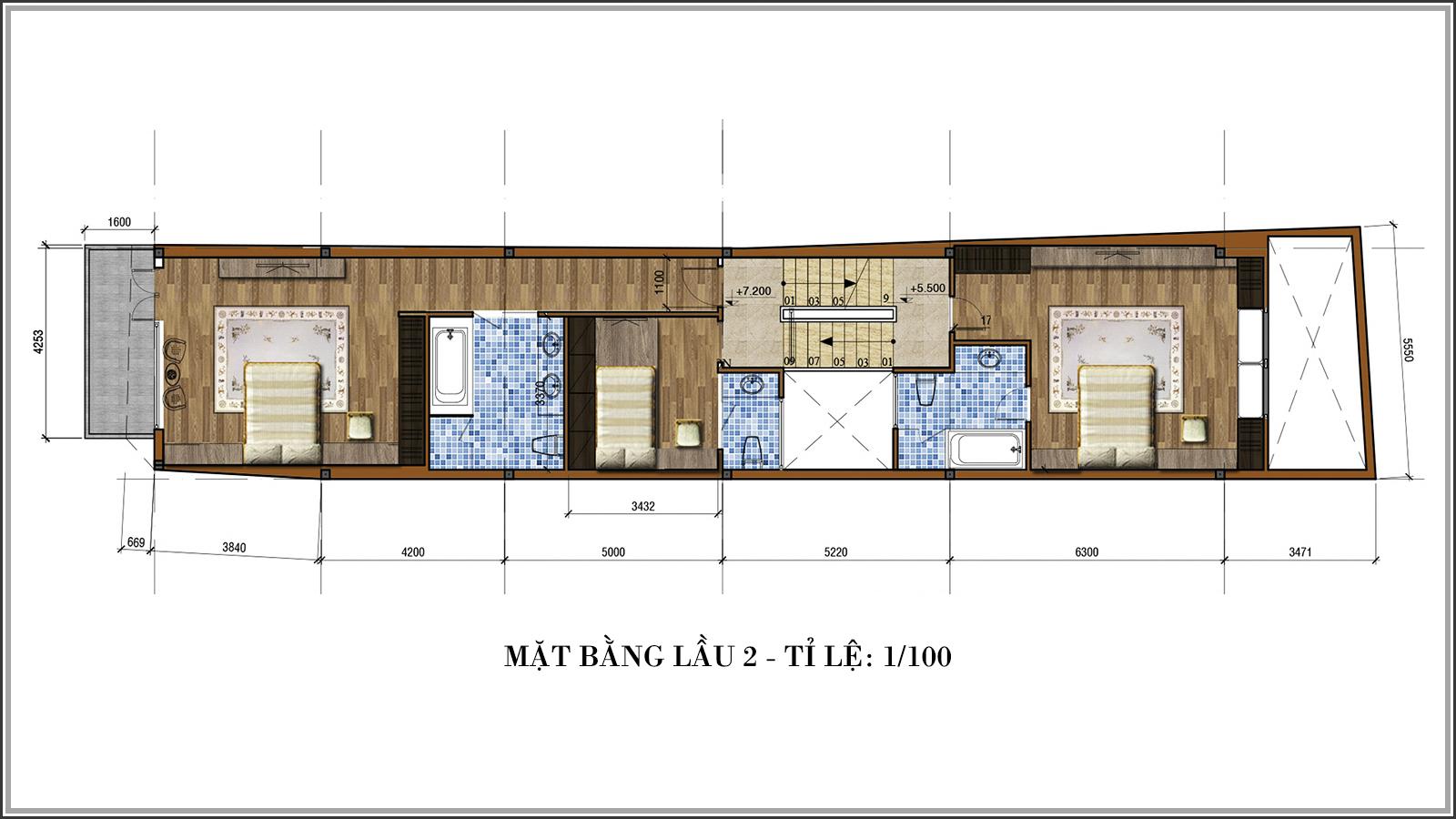 Tư vấn thiết kế nhà phố mặt tiền 5m kết hợp kinh doanh tại Tân Bình - 05