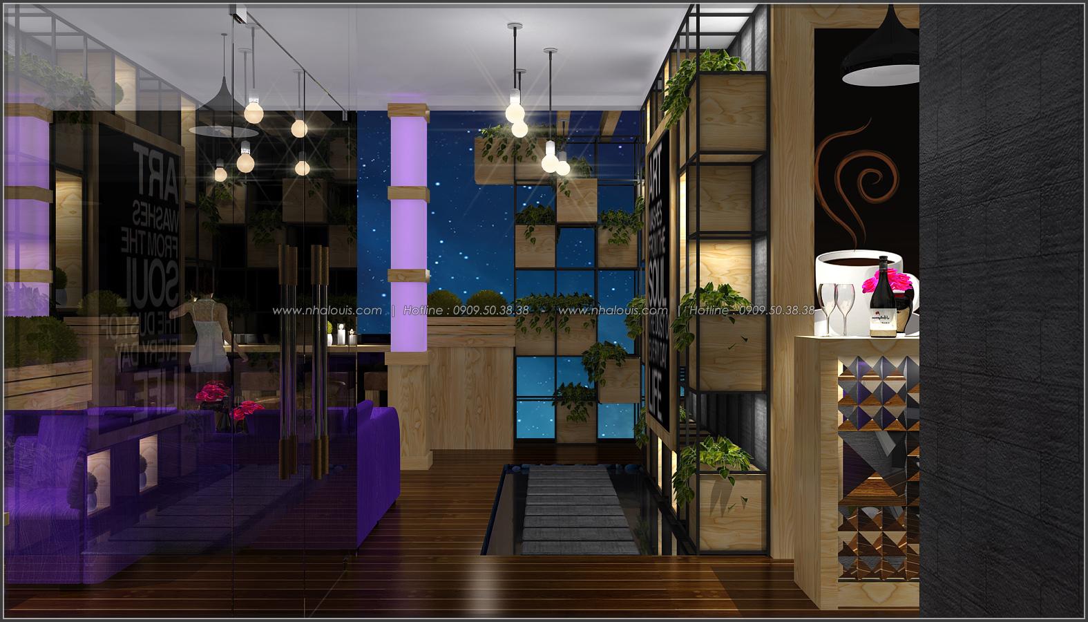 Tư vấn thiết kế quán cafe không gian xanh sang trọng ở Bình Dương - 10