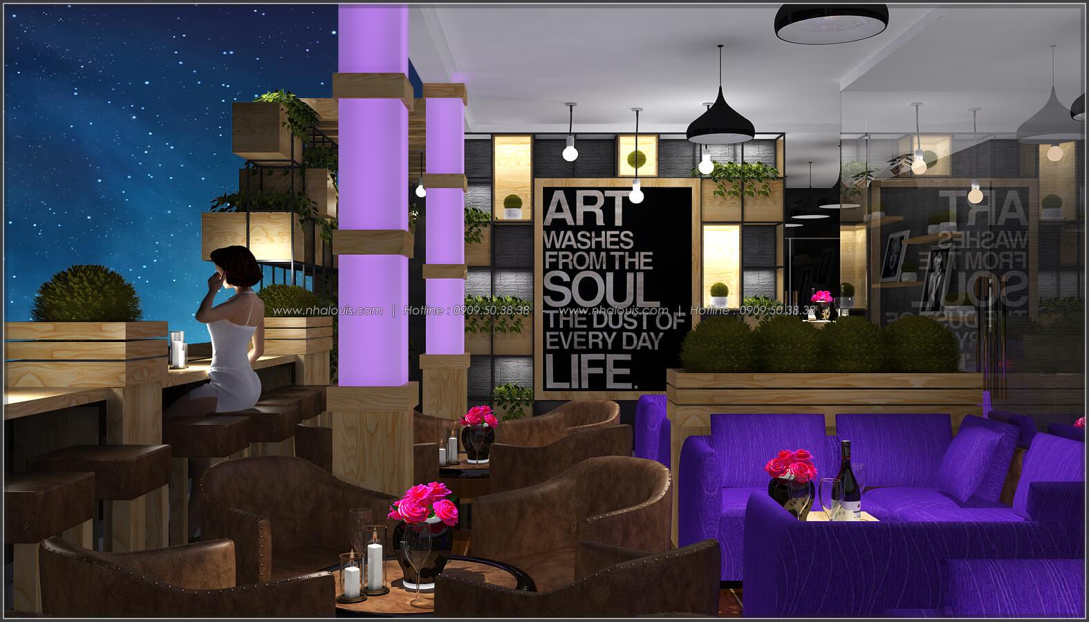 Thiết kế nội thất thiết kế quán cafe đẹp không gian xanh sang trọng ở Bình Dương - 8