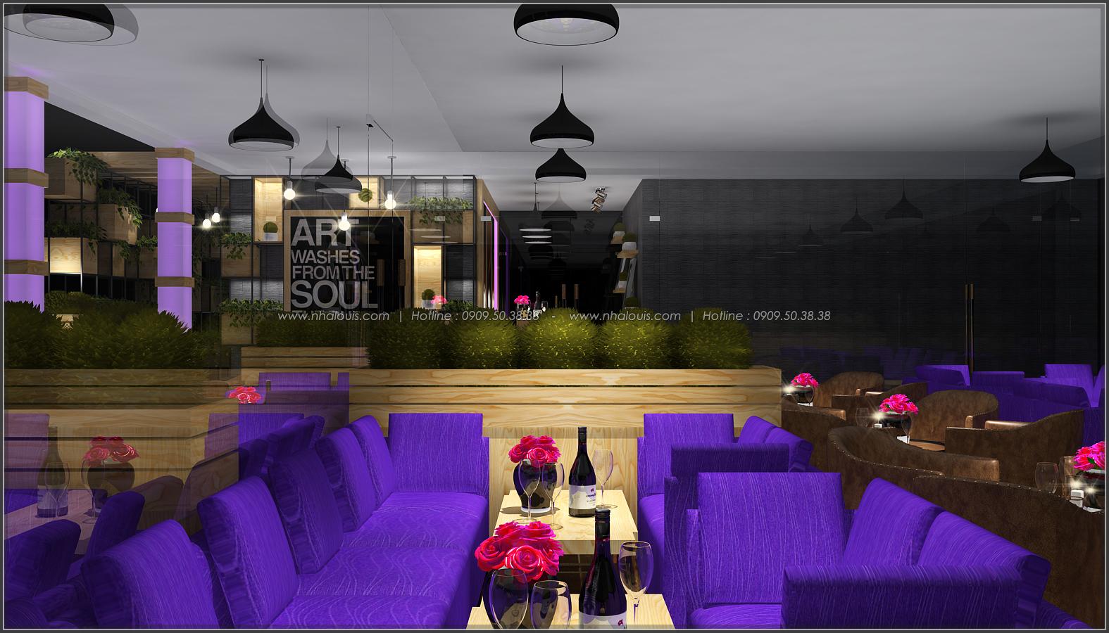Tư vấn thiết kế quán cafe không gian xanh sang trọng ở Bình Dương - 9