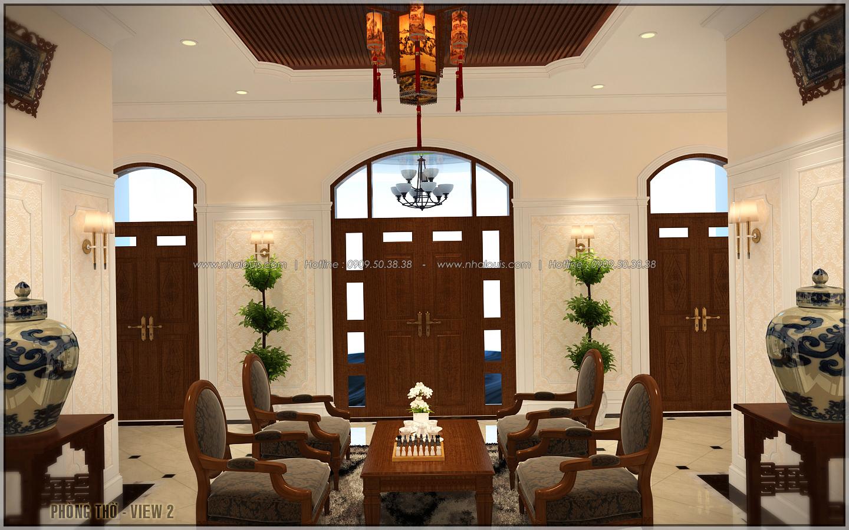 Vẻ đẹp giản đơn của ngôi biệt thự 1 tầng 3 phòng ngủ tại xứ dừa Bến Tre - 13