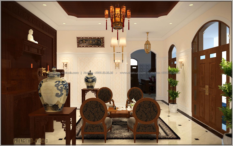 Vẻ đẹp giản đơn của ngôi biệt thự 1 tầng 3 phòng ngủ tại xứ dừa Bến Tre - 14