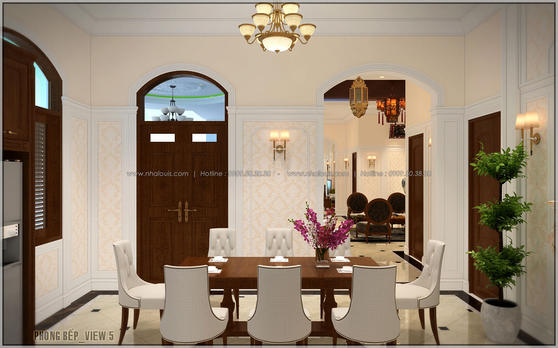 Bếp và phòng ăn ngôi biệt thự 1 tầng 3 phòng ngủ tại xứ dừa Bến Tre - 19
