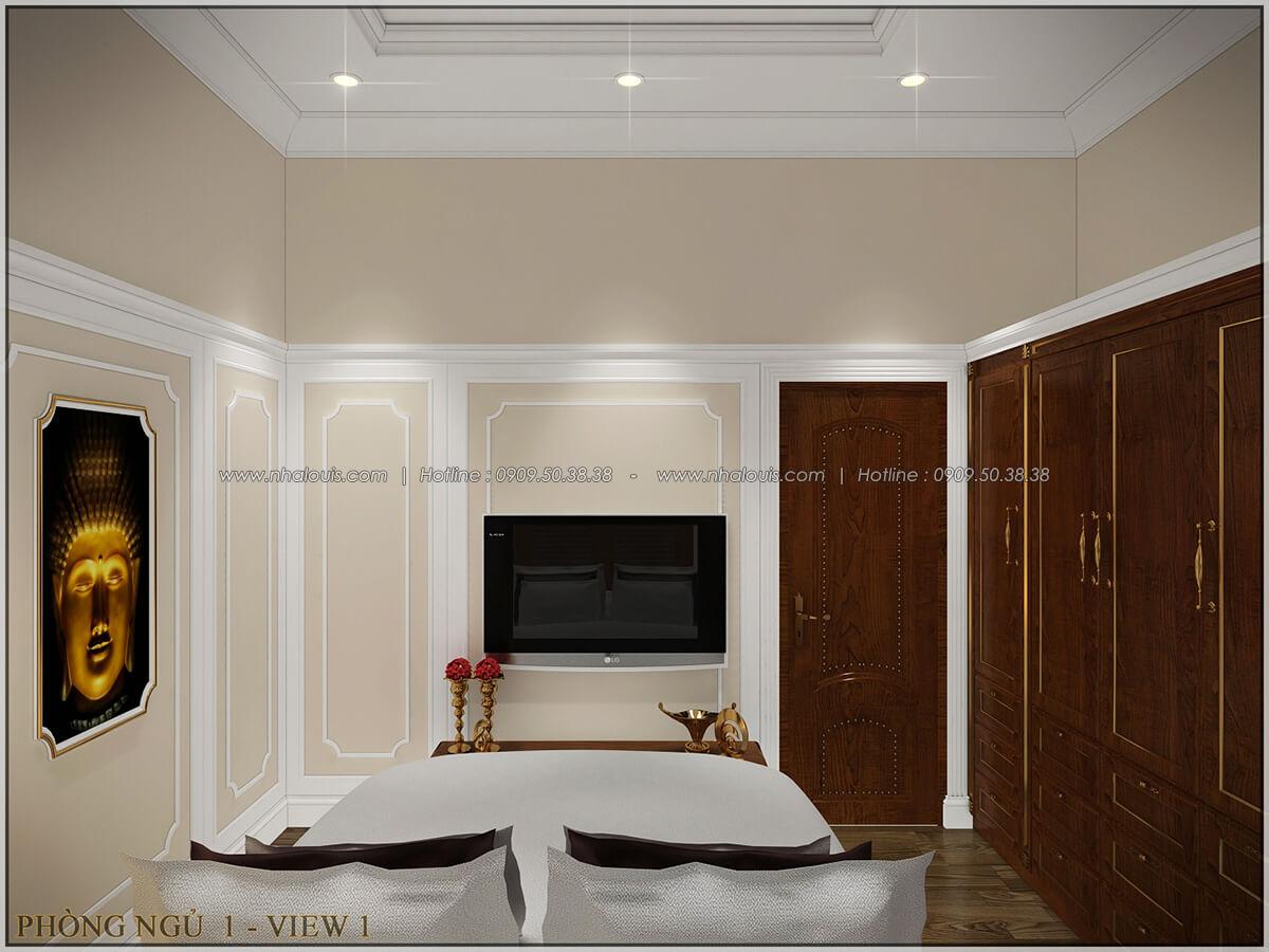 Phòng ngủ ngôi biệt thự 1 tầng 3 phòng ngủ tại xứ dừa Bến Tre - 22